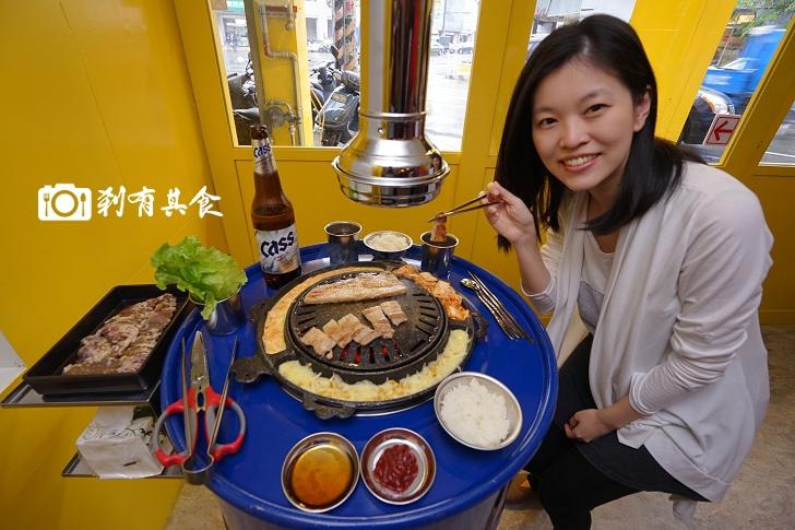 【台中韓式燒肉】 STAND UP 韓道立燒 全台第一家站著吃韓國燒肉 好吃平價消費 小菜白飯生菜還能吃到飽(已歇業)