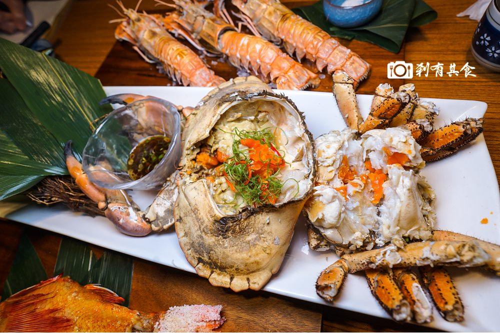 桀壽司 | 台中超人氣高CP值日本料理 生猛海鮮連輪來襲 誰受得了啊? 必吃麵包蟹 宜蘭角蝦 食尚玩家推薦