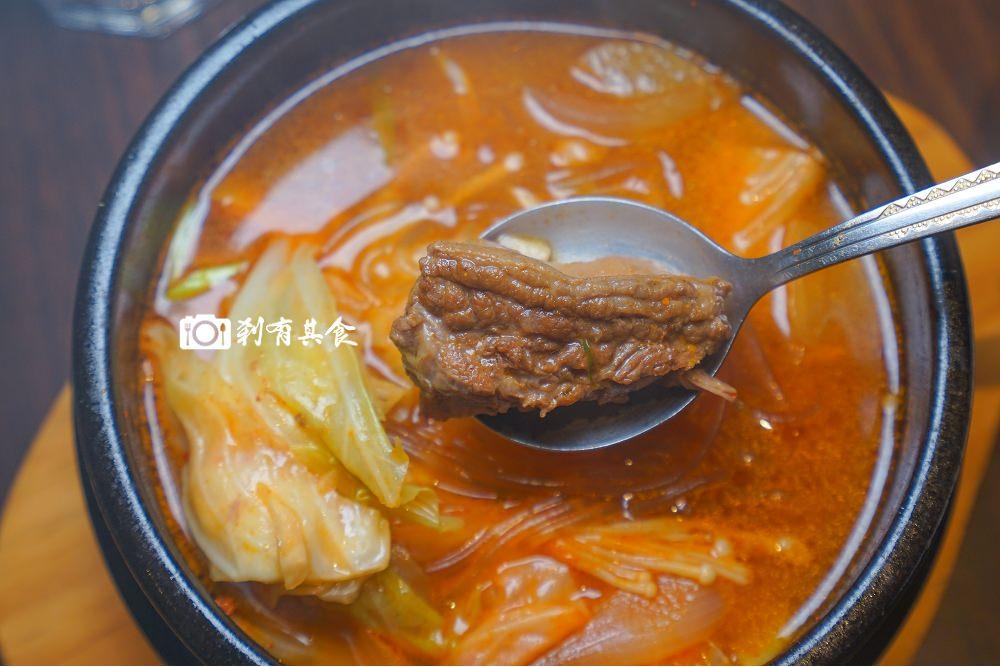 臻韓饌 和他的好朋友   煎餅好吃不油膩 還有流汗必點的燉牛肋條鍋